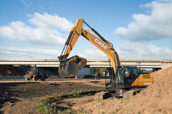 Case CX250D for sale at Bingham Equipment Company, Arizona