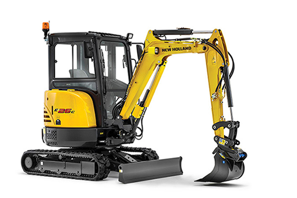 New Holland  | Compact Excavators - C-Series | Model E26C for sale at Bingham Equipment Company, Arizona