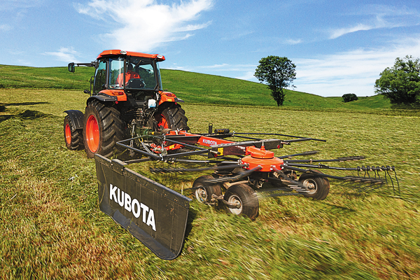 Kubota | RA Series Rotary Rakes | Model RA1042T for sale at Bingham Equipment Company, Arizona
