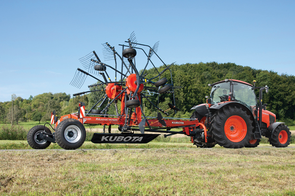 Kubota | RA Series Rotary Rakes | Model RA2072 for sale at Bingham Equipment Company, Arizona