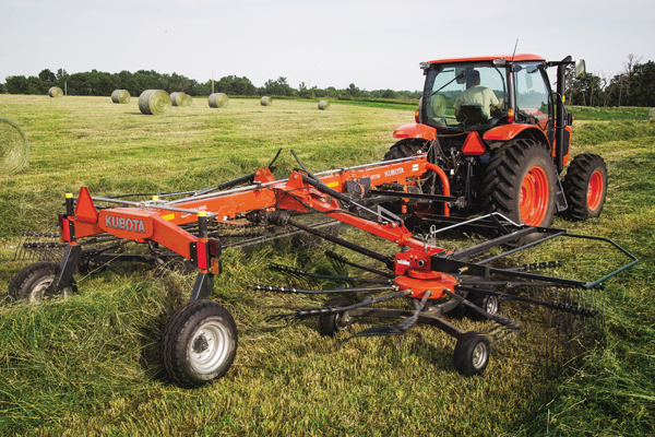 Kubota | RA Series Rotary Rakes | Model RA2076 for sale at Bingham Equipment Company, Arizona