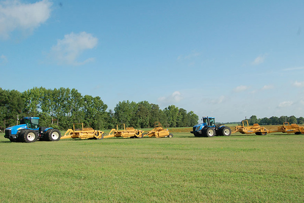 New Holland Trimble® Fieldlevel II System for sale at Bingham Equipment Company, Arizona