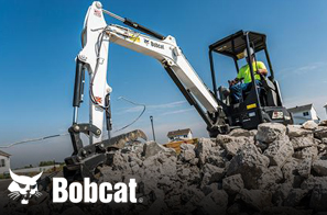 We work hard to provide you with an array of products. That's why we offer Bobcat for your convenience.